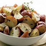 Red Potato Salad with Garlic & Herbs