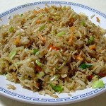 Vegetable Fried Rice – Chinese Style
