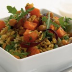 Healthy Brown Rice & Barley Salad