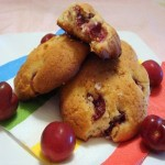 Cherry Almond Spice Scones