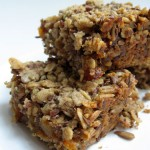 Homamade Granola Fruit Bars
