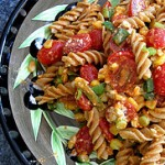 Easy Pasta Salad with Feta & Avocado