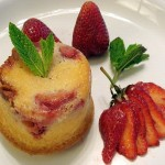 Saffron-Kissed Strawberry Muffins