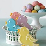 Bird-Shaped Easter Sugar Cookies