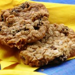 Soft & Chewy Oatmeal Raisin Cookies