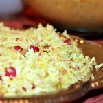 Pomegranate Rice (Salad) with Toasted Pecans