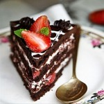 chocolate-strawberry-cake