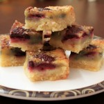 Chocolate Cherry Blondies
