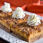Pumpkin Pie Dessert Bars