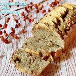 Apple Bread With Toasted Pecans
