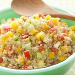 Sweet Tangy & Colorful Quinoa Salad