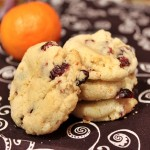 Cranberry Orange & Coconut Cookies