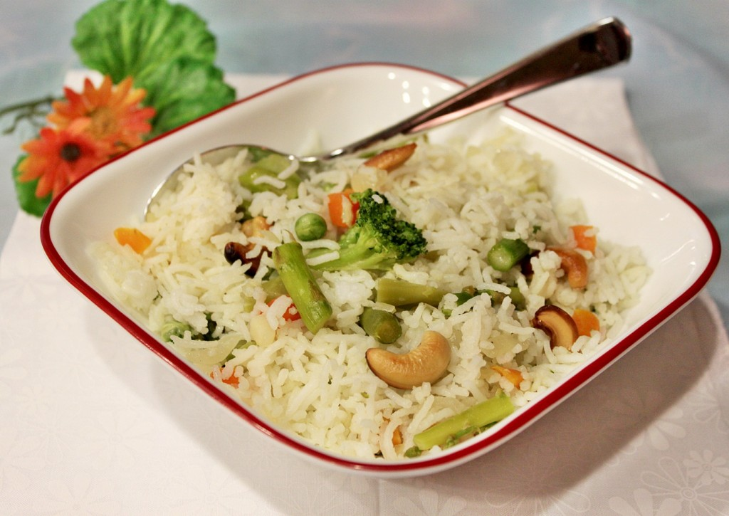 Rice Pilaf - Spring Rice | Fun and Food Cafe