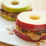 Kid-Friendly Apple & Peanut Butter Sandwiches