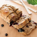 Blueberry Banana Avocado Bread