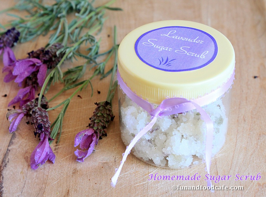 Homemade Lavender & Jasmine Sugar Scrub, with a touch of Honey for ...