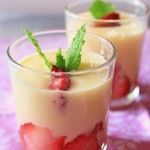 Mango Lassi & Strawberry Shots