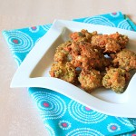 Fried Broccoli & Cheese Fritters