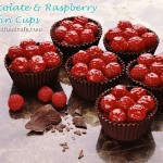 Mousse-Filled Chocolate & Raspberry Cups