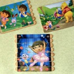 DIY: Posicle Stick Kid's Puzzles