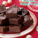 5-Minute Microwave Fudge Recipe