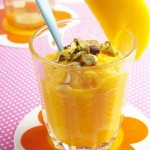 5-Minute Mango Pudding