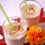 Grown-Up Maple Pumpkin Pie Milkshake