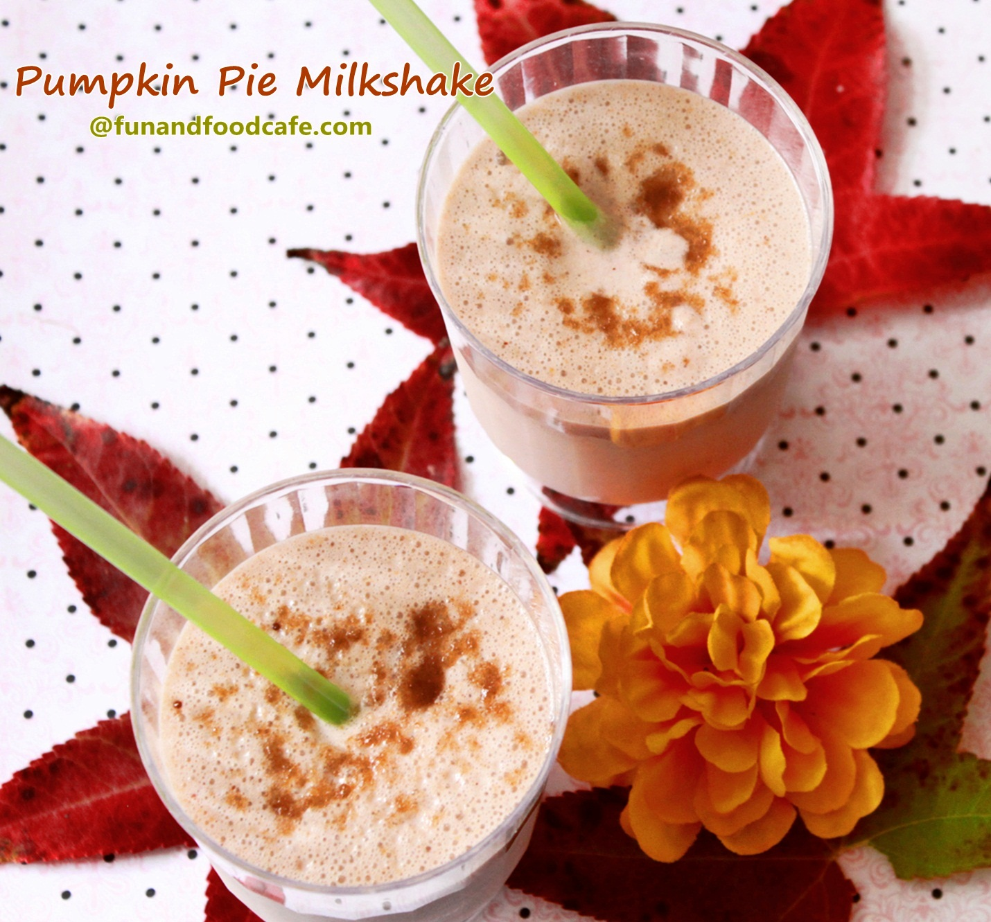 ... pie milkshake knew i had to make a vegan pumpkin pie milkshake over