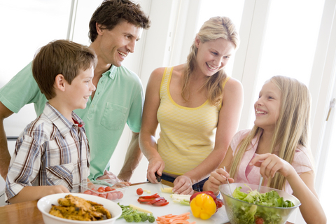family-making-meals-together