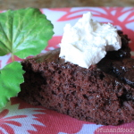 Super Moist Double Chocolate Cake