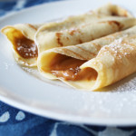 Dessert Crepes with Homemade Dulce de Leche