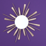 DIY: Make a Sunburst Wall Mirror in Less Than 15 mins