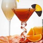 Halloween Cocktail Martini