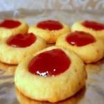 Thumbprint Cookies – Vegan