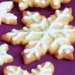 Snowflake Sugar Cookies Recipe