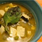 Thai Soup With Tofu