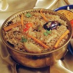 Vegetarian Hyderabadi Biryani