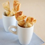Puff Pastry Twists With Cheese Garlic & Basil