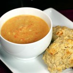 Roasted Cauliflower Soup with Leeks & Carrots