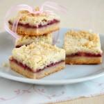 Raspberry Cookie Bars (Blondies)