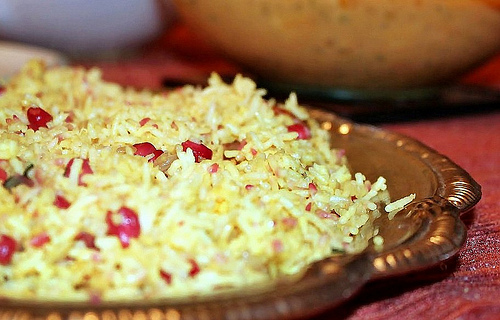 pomegranate-rice-pilaf-salad