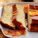 Orange Cake (Glutenfree) With Orange-Flower Syrup