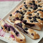 Blueberry Focaccia – Fresh & Fruity