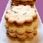 Shortbread Recipe With Sage & Apricot Jam