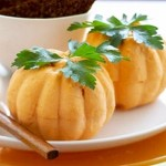 Cheese Pumpkin Appetizers