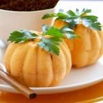 Cheese Pumpkin Appetizers