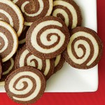 Chocolate Pinwheel Christmas Cookies