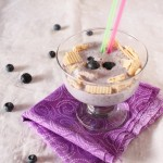 Blueberry Banana & Soy Milk Smoothie