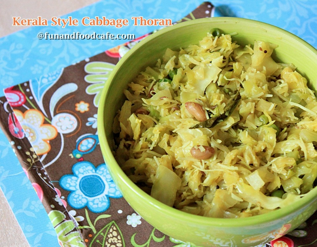 Cabbage recipe fun and food cafe cabbage thoran kerala recipe forumfinder Images