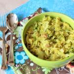 Kerala-Style Cabbage Thoran